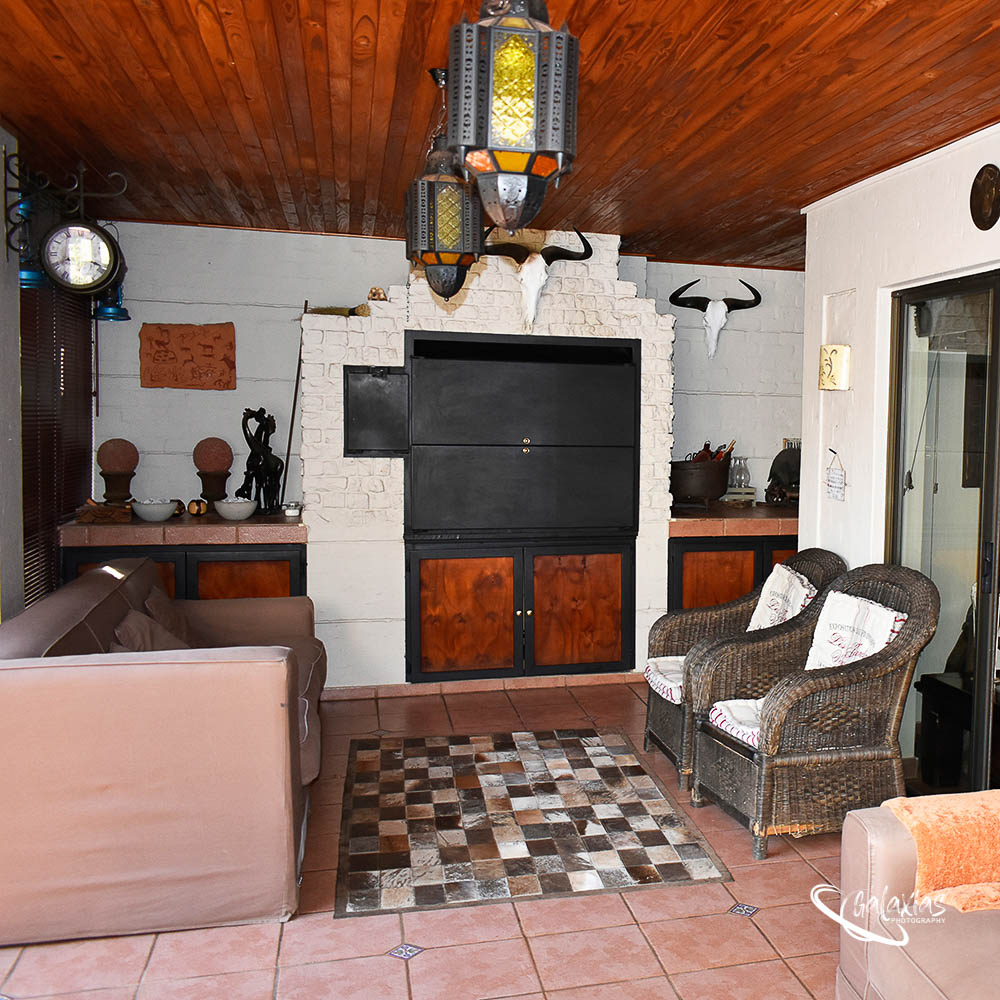 Entertainment room, photographed by Galaxias Photography, Pretoria East, South Africa