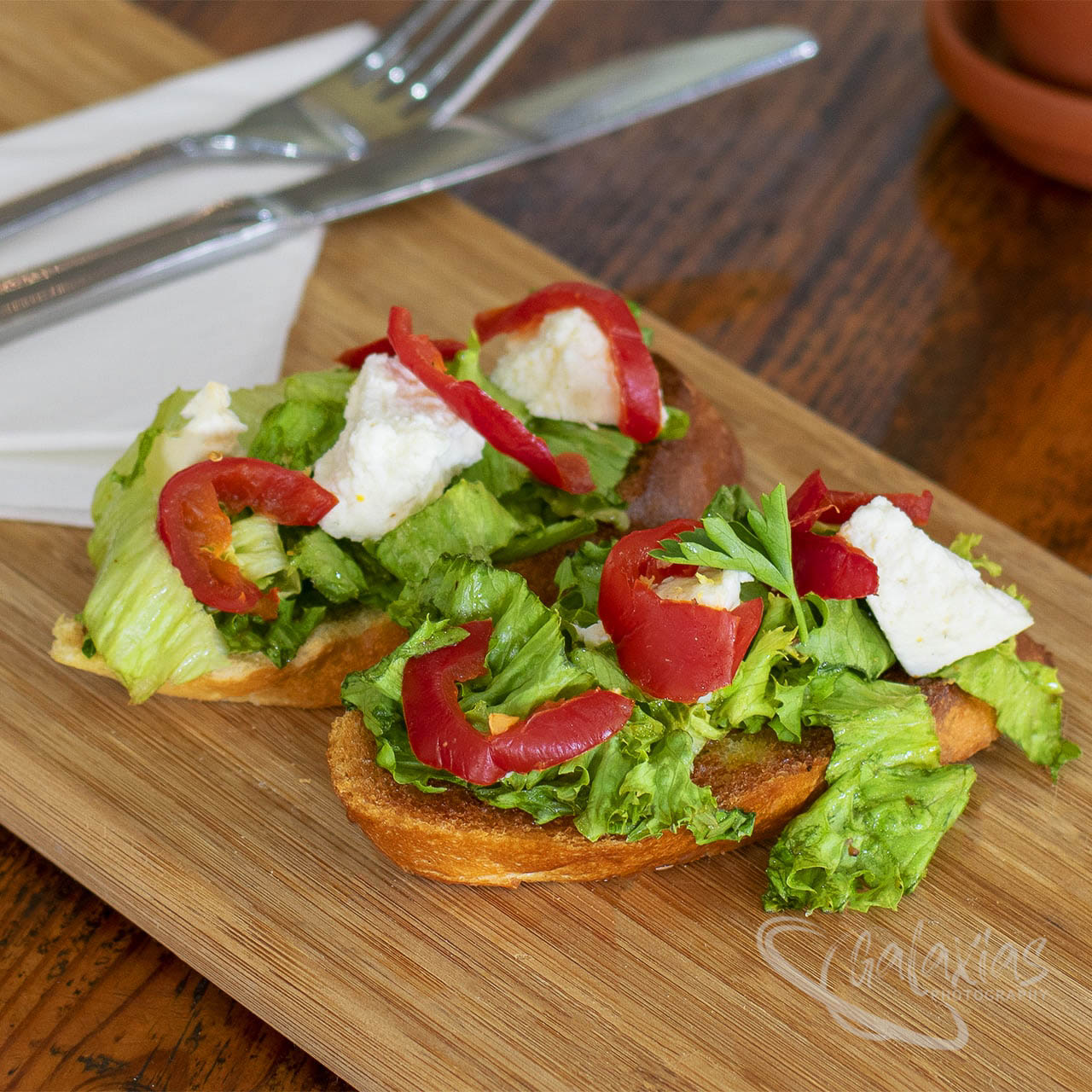 Jalapeno & Feta Toast by Galaxias Photography