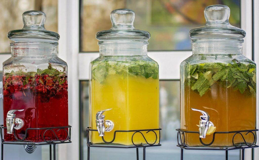 Three different Jungle Juice