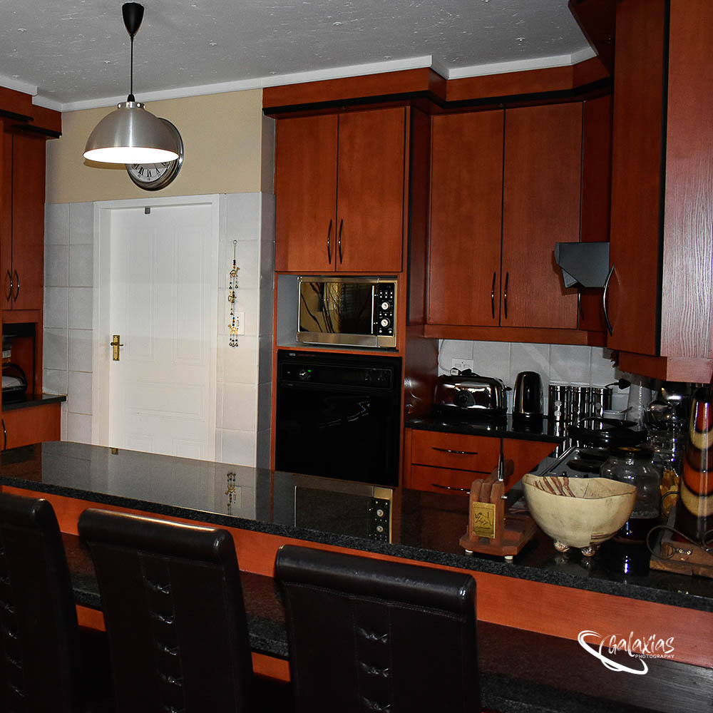 Kitchen was photographed by Galaxias Photography, Pretoria East, South Africa