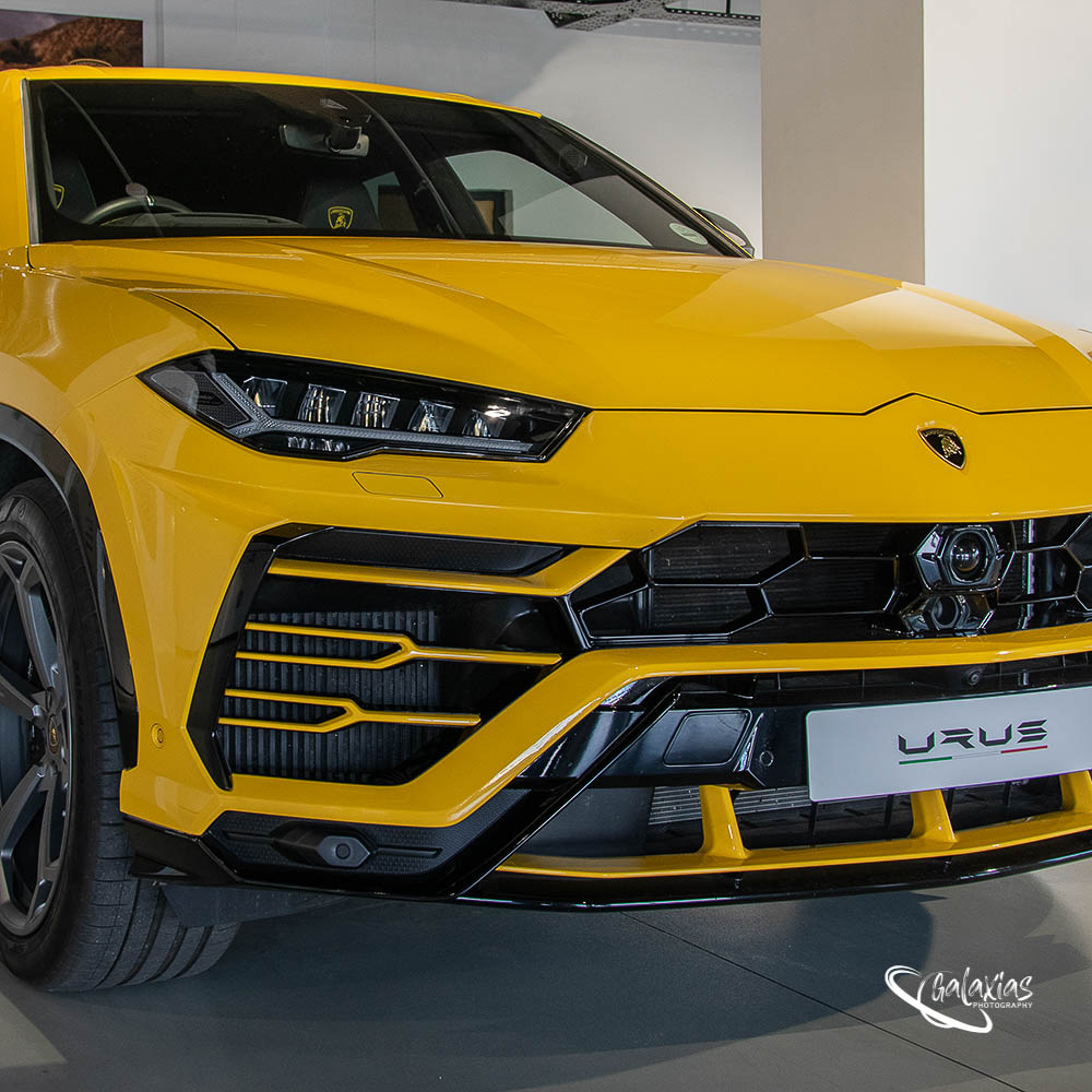 Lamborghini Urus, photographed by Galaxias Photography, Pretoria East, South Africa