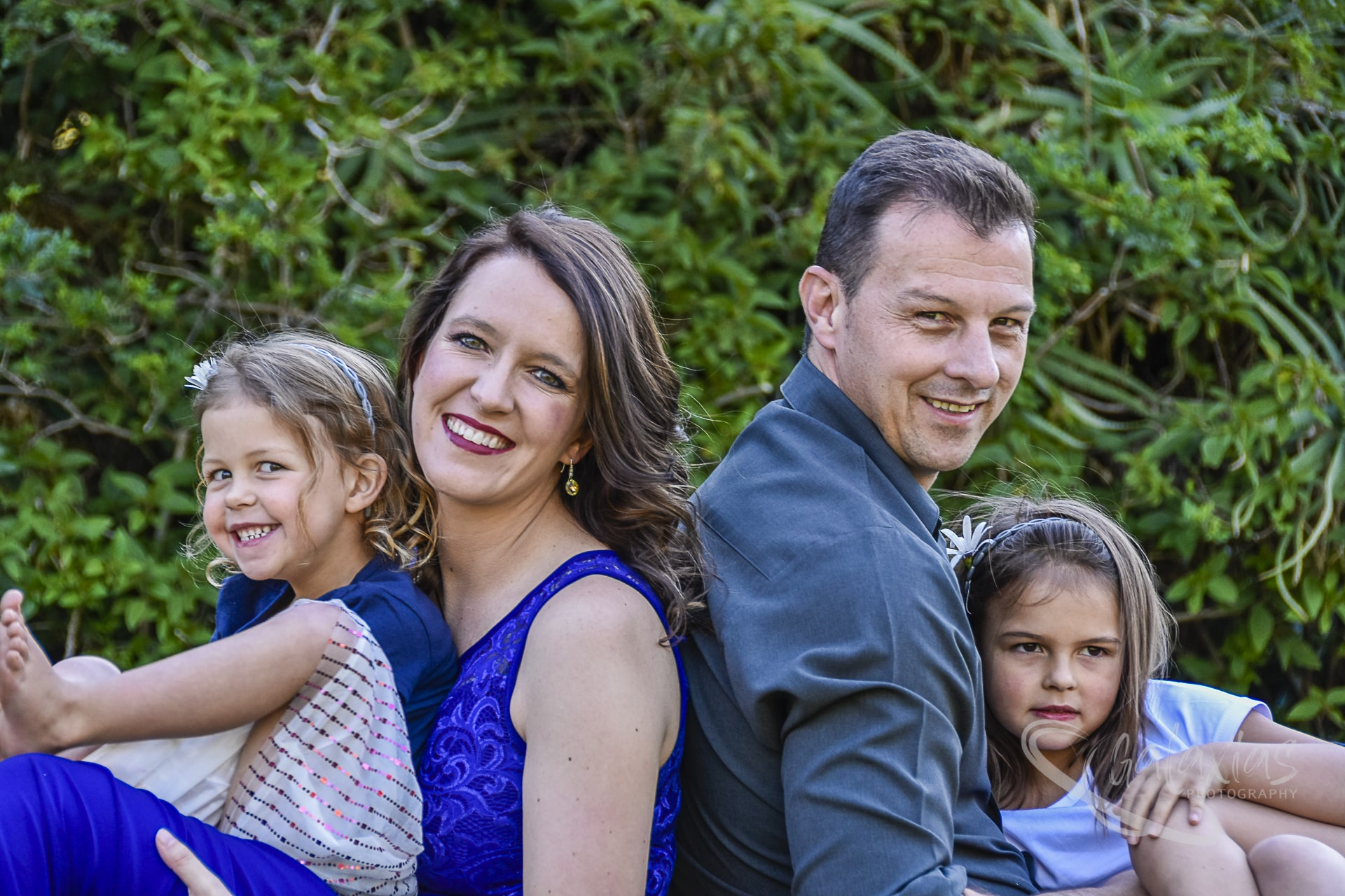 Stokes family photo shoot at Jan Cilliers Park
